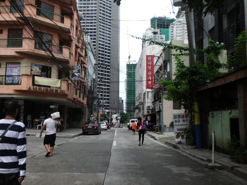 Burgos St. going to Makati Avenue
