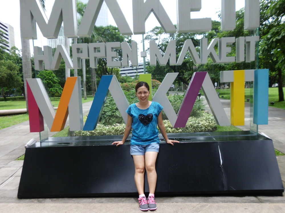 One of the attractions at the Ayala Triangle Gardens