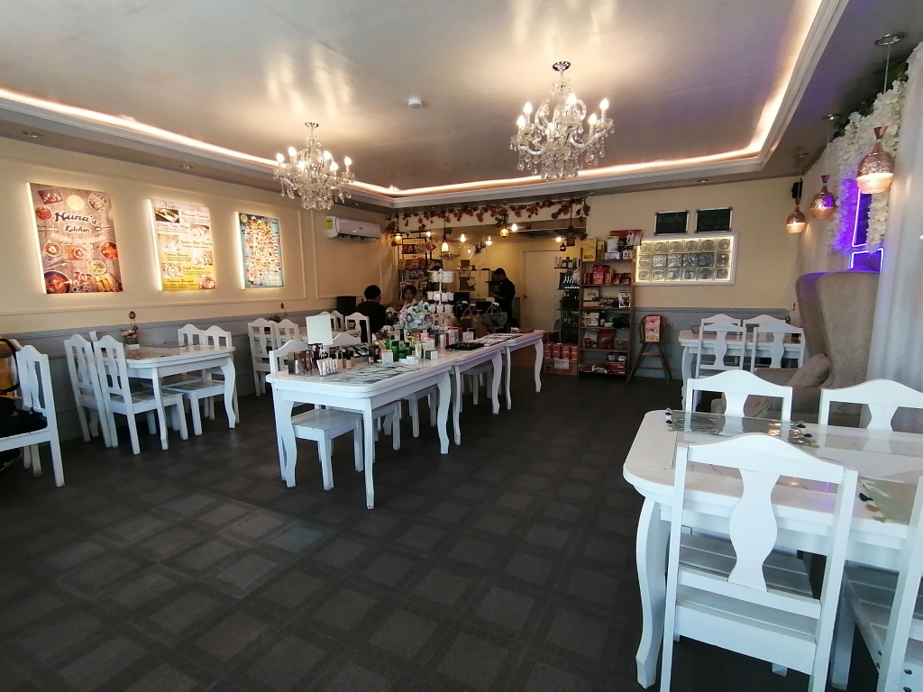 Comfy and beautiful interior design of Nuna Korean Restaurant