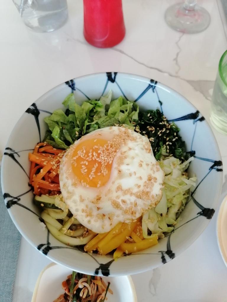 Nutritious and delicious Bibimpap.