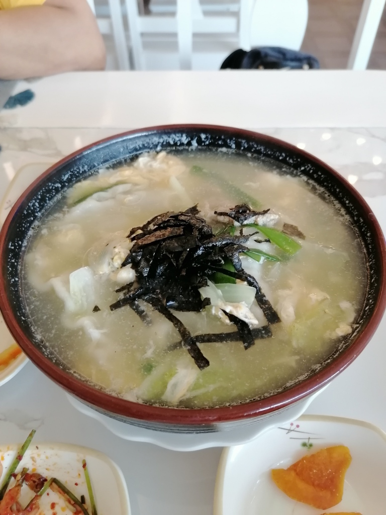 This Korean soup is made of big meaty dumplings which are very tasty. It is great for sharing too.